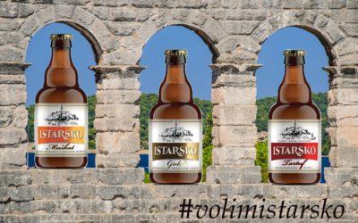 NOVO na tržištu! Istarsko pivo Gold, Muškat i Tartuf nefiltrirano 0,33 l boca!